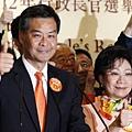 梁振英3月25日當選香港新任特首