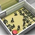 朝鮮, 脫北者找捕後關押在收容所。