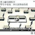 浙江省溫州樂清市一小學周圍黑工廠林立,致使3天內有近百名學生因毒氣侵入學校出現中毒症狀。(網絡截圖)
