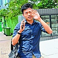 向人妻丈夫傳送淫照的劉駿希,昨獲控方撤控改簽守行為了事。
