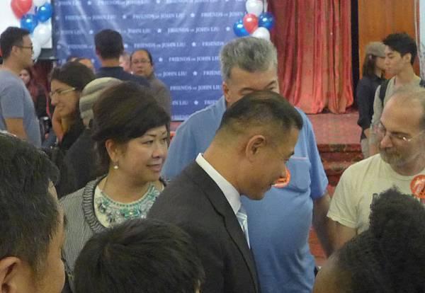競選中醜聞不斷的劉醇逸此次在9月10日紐約市民主黨競選市長低票落敗。(大紀元圖片)