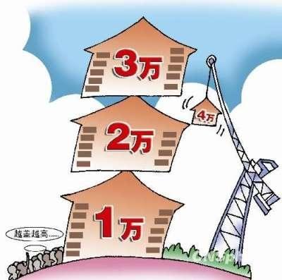 近日,九個頭條網關於「千萬不能忽略 中國人必須知道的8件事」網上熱傳。圖為房價已步入全球最貴行列。(網絡圖片)