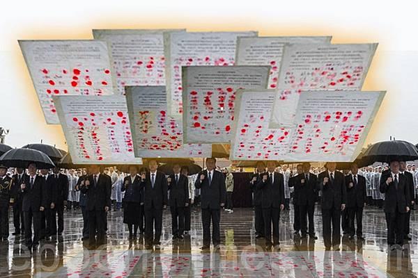 真相深入人心 河北千人手印進京營救法輪功學員