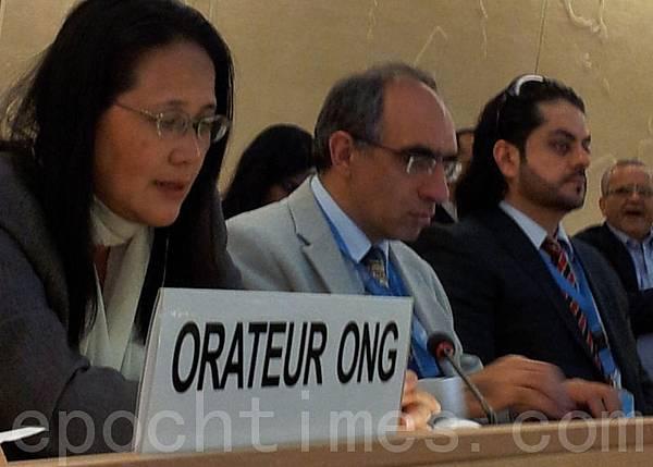 全球大紀元總編輯郭君女士提出了對中共活摘法輪功學員器官的指控,國際各國及國際非政府組織人權代表為此深受鼓舞。