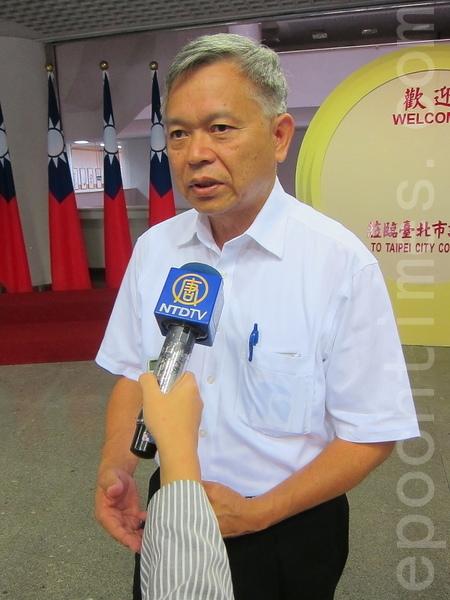 台灣法輪大法學會理事長張清溪。(鍾元/大紀元)