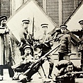 滬軍討虜學生隊合影(1910年10月)。(國父紀念館/國民黨文傳會)