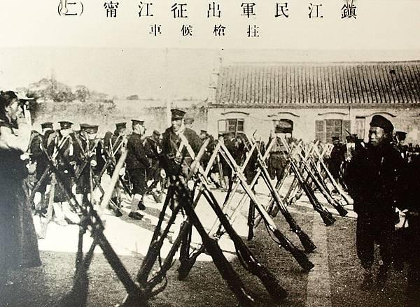 會攻南京的浙江革命軍(1910年11月)。(國父紀念館/國民黨文傳會)