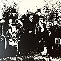 重慶光復,革命軍政府成立典禮合影(1910年10月)。(國父紀念館/國民黨文傳會)