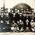 黃興抵達武漢與革命軍同志合影(1910年9月)。(國父紀念館/國民黨文傳會)