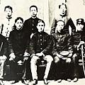 林文先烈(1886-1910年)與參加329之役生還的鄭烈、李恢等同志合影。(國父紀念館/國民黨文傳會)