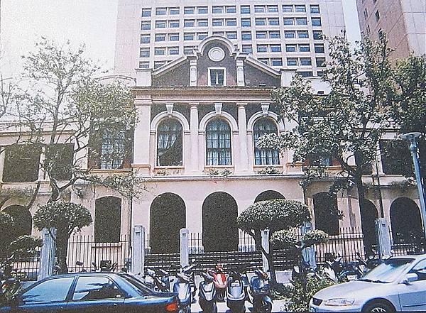 同盟會會員王兆培,於1910年來台就讀台灣總督府醫學院,並在校園內建立革命組織,吸收會員。醫院現址為台灣大學醫學院二號館。(鍾元翻攝/大紀元)