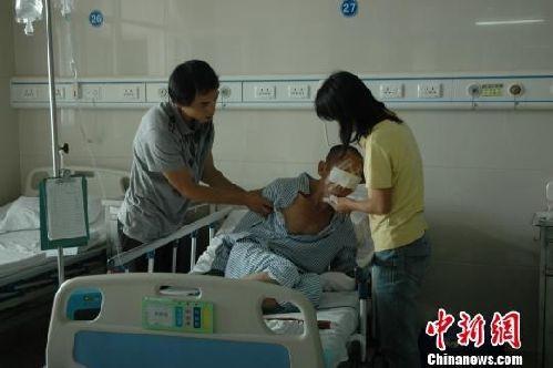 廣東警方稱茂名醫院內被挖眼男子系自殘