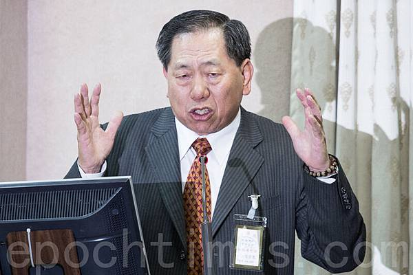 中華民國國安局長蔡得勝9月30日指,中共電偵技術發達,加上台灣政治人物私人電話都不藏私,所以一定有台灣政要遭監聽。(陳柏州/大紀元)