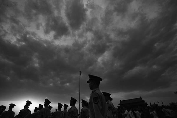 近期,胡溫同日露面,江澤民則連中3箭,中南海在醞釀大風暴。(Photo by Feng Li/Getty Images)