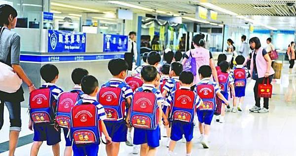 五年後 深圳港童增至五萬