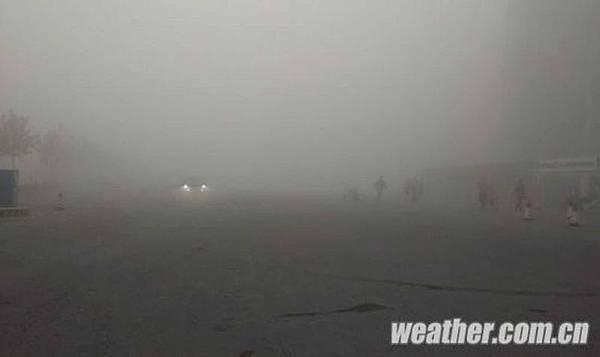中國東北霧霾壓城 陸空交通癱瘓 部分能見度不到10米