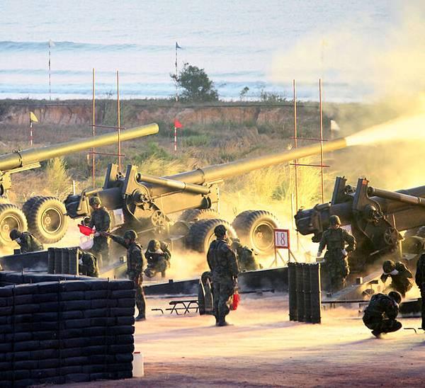 中共仍威脅台灣 國軍金門演習 增反情報人力