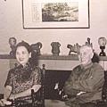 蔣中正總統與夫人蔣宋美齡女士(攝影:鍾元翻攝 / 大紀元)