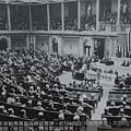 蔣夫人宋美齡應美國羅斯福總統邀請,於1942年11月訪問美國,次年2月18日在眾議院演說,爭取支持,廣泛受歡迎與愛戴。(鍾元翻攝/大紀元)