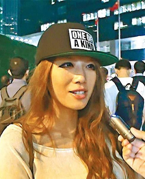 零售業楊小姐:政府解釋唔清唔楚,黑箱作業,應該繼續留守政府總部,先至可以向政府施壓。
