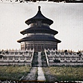 1913年5月25日,北京天壇公園。(Albert Kahn 博物館)