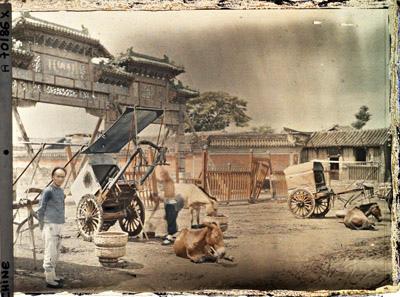 1912年7月,北京(Albert Kahn 博物館)