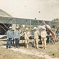 1913年5月25日北京附近的南苑機場(Albert Kahn 博物館)