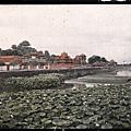 1912年7月3日,北京紫禁城西北護城河。(Albert Kahn 博物館)