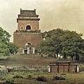 1912年7月7日,北京鐘樓(Albert Kahn 博物館)
