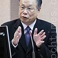 國防部長嚴明認為,目前台灣最大的威脅仍來自中國,因此對國軍來說,兩岸仍屬於敵對關係。(陳柏州/大紀元)
