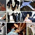 勞教所大隊長叫囂:108種刑能讓你活著出去嗎?中共監獄迫害法輪功學員所實施的種種酷刑演示圖:老虎凳、暴力毒打、死人床(抻床,也稱五馬分屍)、電棍電擊、抻床、吊銬、灌食(鼻飼)、鐵椅子、打毒針(注射不明藥物)、野蠻灌食、電棍毆打等