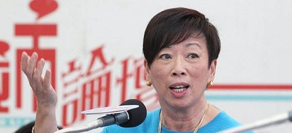 自由黨主席周梁淑怡(黃永俊攝)