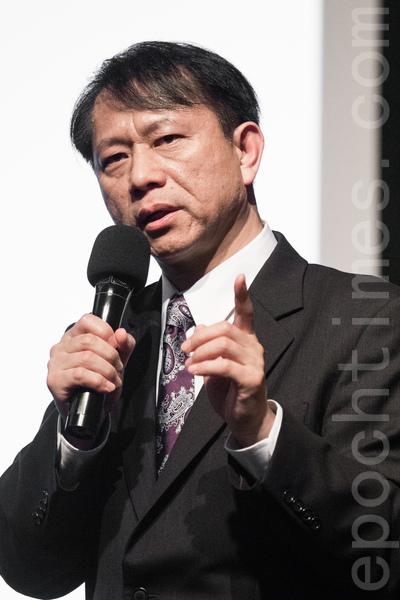 美國南卡羅萊納大學艾肯商學院教授謝田10日表示,中共經濟能快速壯大的原因,在於奪取中國人民手  中的財富。(陳柏州 /大紀元)