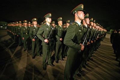 目前,中國局勢出現前所未有的大變動,中共為防立即崩潰,三中全會期間內部已傳達文件,謊稱美國在部署顛覆中國,為製造戰爭轉移危機作緊急動員。(Getty Images)