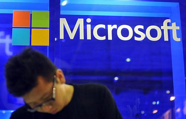 微軟將從2014年4月8日起,不再為XP系統提供系統更新和安全補丁等技術支持。(Mandy CHENG/AFP)