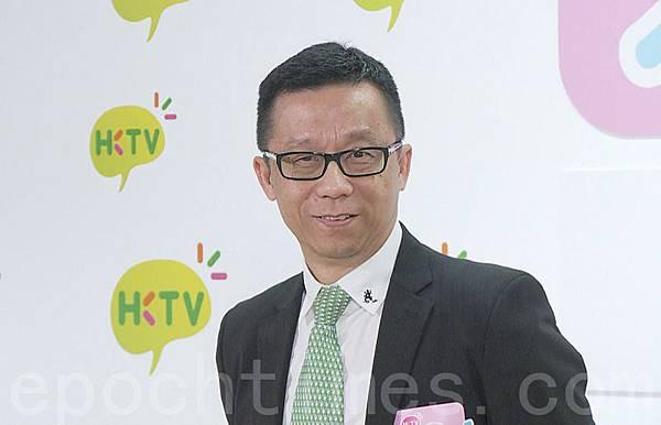 香港寬頻創辦人王維基。(余綱/大紀元)