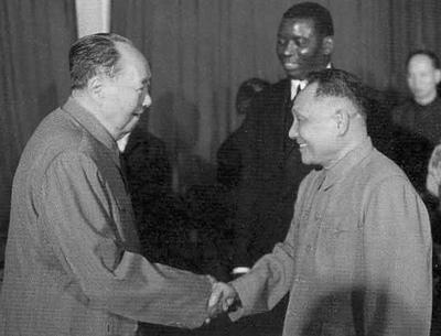 1974年,文革後期,被打倒的鄧小平被毛澤東重新啟用出任中共副總理。(網絡圖片)