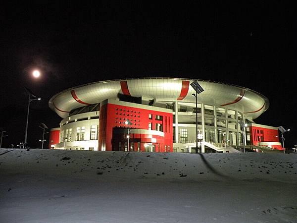 蒙古烏蘭巴托體育館(網絡圖片)