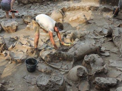 以色列發現距今3,700年的大型酒窖