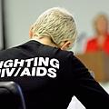 愛滋病存活率雖已提高,仍無法治愈。有許多人低估其風險,據估美國有20%的感染者渾然不覺,待確  診後有1/3在一年內發病。圖為今年聯合國愛滋病大會。(Getty Images)(攝影: / 大紀元)