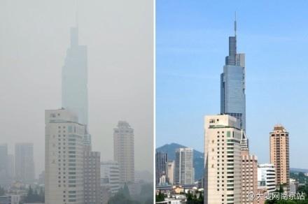 圖為南京站對比圖。(網絡圖片)