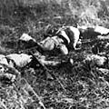 11月6日,在江橋抗戰中犧牲的馬占山部士兵。(網絡圖片)