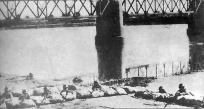 1931年11月,進犯黑龍江的日軍在嫩江橋遭到黑龍江步兵第3旅旅長馬占山部頑強抵抗。(網絡圖片)