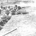 激戰中的桂軍171師。(網絡圖片)