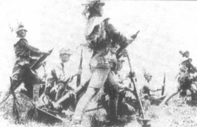 在安徽的國軍。(網絡圖片)