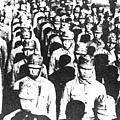 在四行倉庫奮戰的謝晉元團800壯士。(網絡圖片)