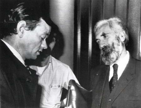 當時的大貪官葛柏(右)成功引渡回港重新贏回了市民對政府的信任