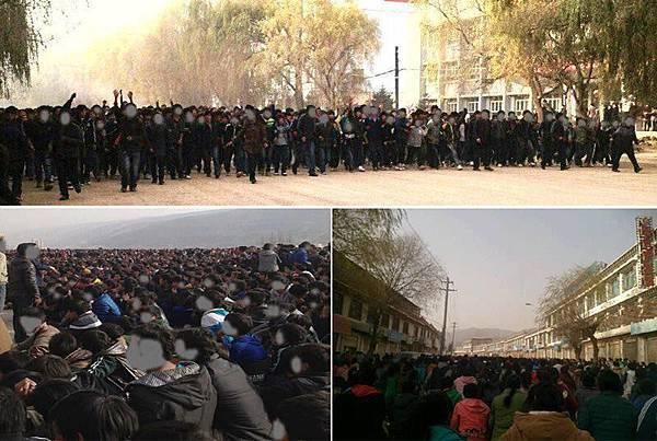 共匪在西藏作惡,佯稱自己【維穩】,不斷對奪來地方屠戮破壞,搶資源。