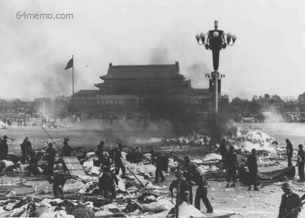 鄧妖鄧小平,因中共的腐敗不堪,人民及知識分子發動反官倒,反腐敗,鄧小平聯同李鵬等佞人,於1989-06-04實行六四大屠殺。