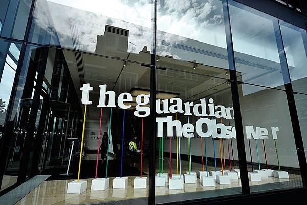 1月8日,英國《衛報》網站無辜被中共封殺。圖是位於英國倫敦的《衛報》辦公樓。(Bethany Clarke/Getty   Images)